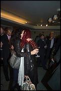 NANCY DELL D'OLIO; CLEO ROCOS, Fortnum and Mason and Quartet books host a celebration for the publication of  The White Umbrella by Brian Sewell. Illustrated by Sally Ann Lasson. Fortnum and Mason. Piccadilly. London. 3 March 2015.
