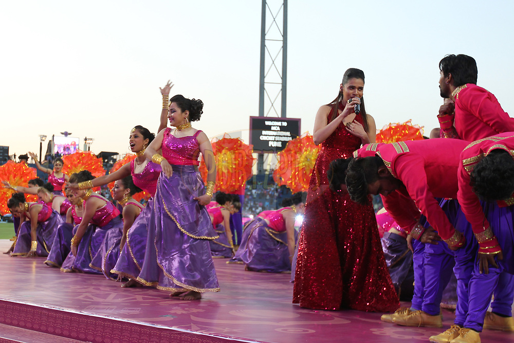 Opening ceremony during match 2 of the Vivo 2017 Indian Premier League between the Rising Pune Supergiants and the Mumbai Indians held at the MCA Pune International Cricket Stadium in Pune, India on the 6th April 2017Photo by Prashant Bhoot - IPL - Sportzpics