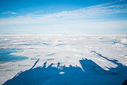 Pack ice north of Svalbard