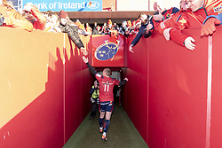 December 9, 2018 - Limerick, Ireland - Keith Earls of Munster thanks his fans during the Heineken Champions Cup Round 3 match between Munster Rugby and Castres Qlympique at Thomond Park Stadium in Limerick, Ireland on December 9, 2018  (Credit Image: © Andrew Surma/NurPhoto via ZUMA Press)