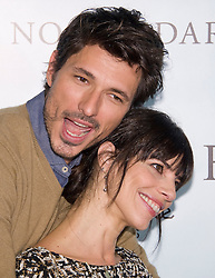 (LtoR) Andres Velencoso with Maribel Verdu attends a photocall for 'Fin', Room Mate Oscar Hotel, Madrid, Spain, November 20, 2012. Photo by Oscar Gonzalez / i-Images...SPAIN OUT