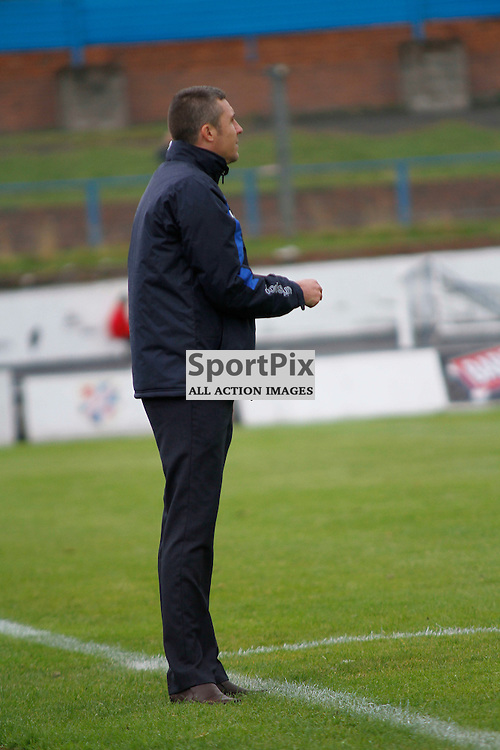 Cowdenbeath FC V Peterhead, Scottish League 1, 12th September 2015<br /> <br /> Cowdenbeath FC V Peterhead, Scottish League 1, 12th September 2015<br /> <br /> COLIN NISH ON THE SIDELINES DIRECTING TEAM