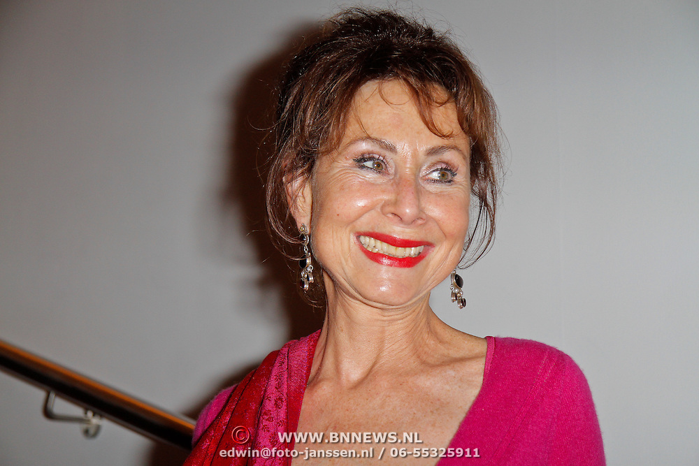 NLD/Amsterdam/20120306 - Premiere toneelstuk Napoleon op Sint-Helena, Carolien van den Berg