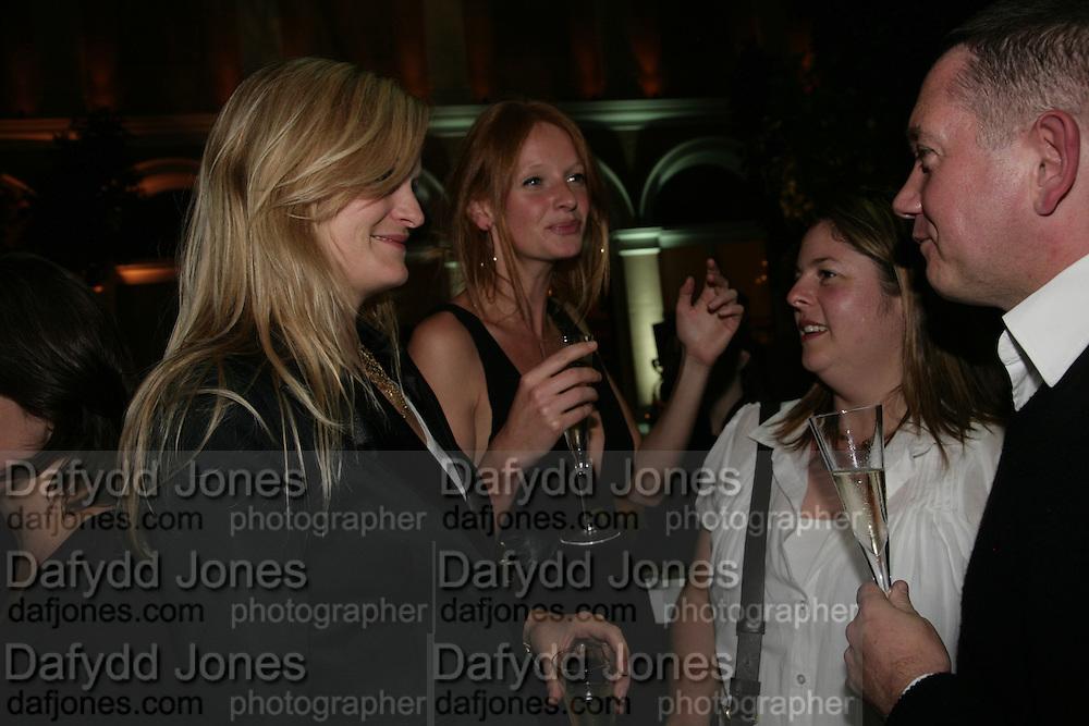 Anahita Resort launch party. Wallace Collection. London. 12 September 2007. ( Photo by Dafydd Jones) Alexia Inge;Olivia Inge;Sonya Fletcher -DO NOT ARCHIVE-© Copyright Photograph by Dafydd Jones. 248 Clapham Rd. London SW9 0PZ. Tel 0207 820 0771. www.dafjones.com.