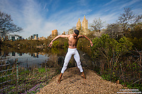 Central Park New York City Dance As Art Photography Project with dancer Daniel White
