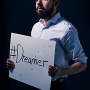 UVU Student  Alan Ledesma who is a dreamer on the campus of Utah Valley University in Orem, Utah on Wednesday Feb. 8, 2018. (August Miller, UVU Marketing)