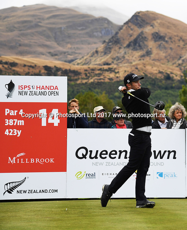 New Zealand's Ben Campbell on day 4 at the 2017 ISPS Handa New Zealand Golf Open. Millbrook, Arrowtown. New Zealand. Sunday 12 March 2017. © Photo: Andrew Cornaga / www.photosport.nz