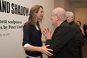 CECILIA CHANCELLOR; PETER LINDBERGHSubstance and Shadow; Alberto Giacometti cculptures and their photographs by Peter Lindbergh. Gagosian, Britannia Street, WC1X 9JD