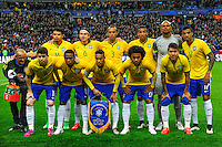 Conmebol - Copa America CHILE 2015 / <br /> Brazil National Team - Preview Set // Team Group , from the left up :<br /> Thiago Silva ,Filipe Luis ,Joao Miranda ,Danilo ,Jefferson ,Luiz Gustavo // Oscar ,Elias ,Neymar ,Willian ,Roberto Firmino