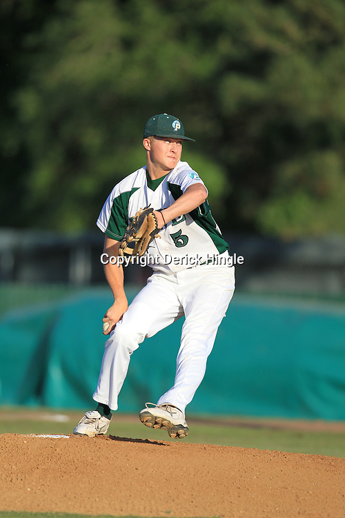 26 April 2010: Ponchatoula Green Wave varsity baseball photos.