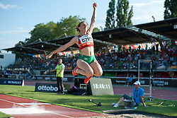 ZINKEVICH Volha, BLR, Long Jump, T12, 2013 IPC Athletics World Championships, Lyon, France