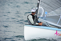 Ben Ainslie (GBR), Sailing Olympic Test Event, Finn men's one person dinghy (heavyweight), Weymouth