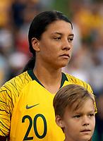 International Women's Friendly Matchs 2019 / <br /> Cup of Nations Tournament 2019 - <br /> Australia v New Zealand 2-0 ( Leichhardt Oval Stadium - Sidney,Australia ) - <br /> Samantha May Kerr of Australia