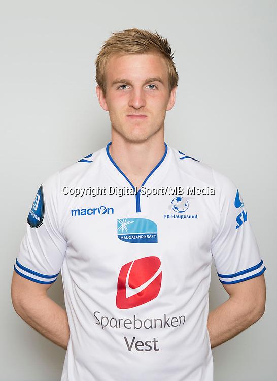 Fotball <br /> Portretter <br /> Tippeligaen<br /> 2015 <br /> Haugesund<br /> Torbj&oslash;rn Agdestein<br /> Foto: Astrid M. Nordhaug