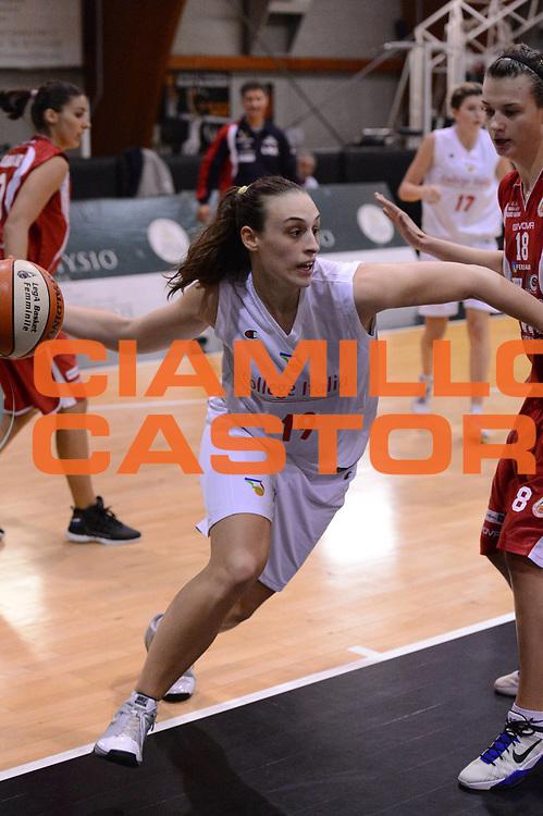 DESCRIZIONE : Roma Basket Campionato Italiano Femminile serie B 2012-2013<br />  College Italia  Gruppo L.P.A. Ariano Irpino<br /> GIOCATORE : Minali Francesca<br /> CATEGORIA : passaggio equilibrio<br /> SQUADRA : College Italia<br /> EVENTO : College Italia 2012-2013<br /> GARA : College Italia  Gruppo L.P.A. Ariano Irpino<br /> DATA : 03/11/2012<br /> CATEGORIA : palleggio<br /> SPORT : Pallacanestro <br /> AUTORE : Agenzia Ciamillo-Castoria/GiulioCiamillo<br /> Galleria : Fip Nazionali 2012<br /> Fotonotizia : Roma Basket Campionato Italiano Femminile serie B 2012-2013<br />  College Italia  Gruppo L.P.A. Ariano Irpino<br /> Predefinita :