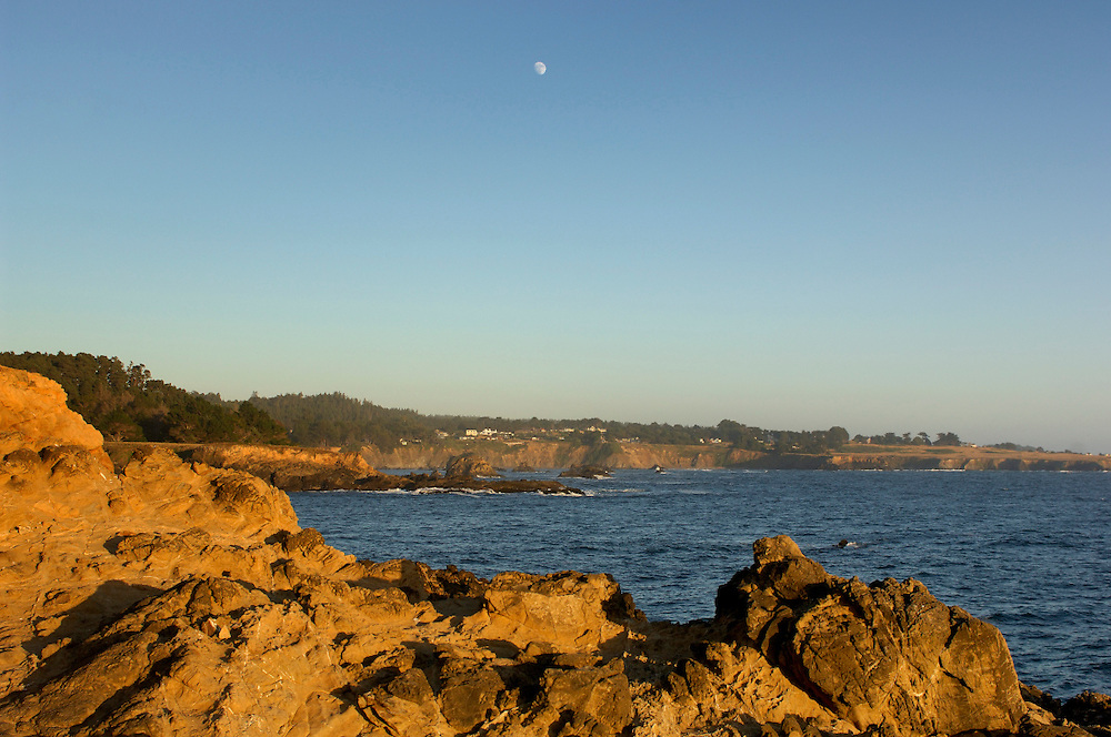 Coast at Russian Gulch State Park, near Mendocino, California, United States of America