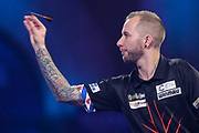 Danny Noppert during the PDC William Hill World Darts Championship at Alexandra Palace, London, United Kingdom on 22 December 2019.