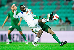 Joaquim Manuel Welo Lupeta of Celje during football match between NK Olimpija Ljubljana and NK Celje in 3rd Round of Prva liga Telekom Slovenije 2018/19, on Avgust 05, 2018 in SRC Stozice, Ljubljana, Slovenia. Photo by Vid Ponikvar / Sportida