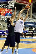 Allenamento Eurobasket 2007<br /> Andrea Crosariol