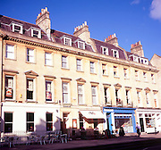 Georgian buildings, Edgar Buildings, Bath, England