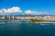 Magic Island, Ala Moana Beach Park, Waikiki, Honolulu, Oahu, Hawaii