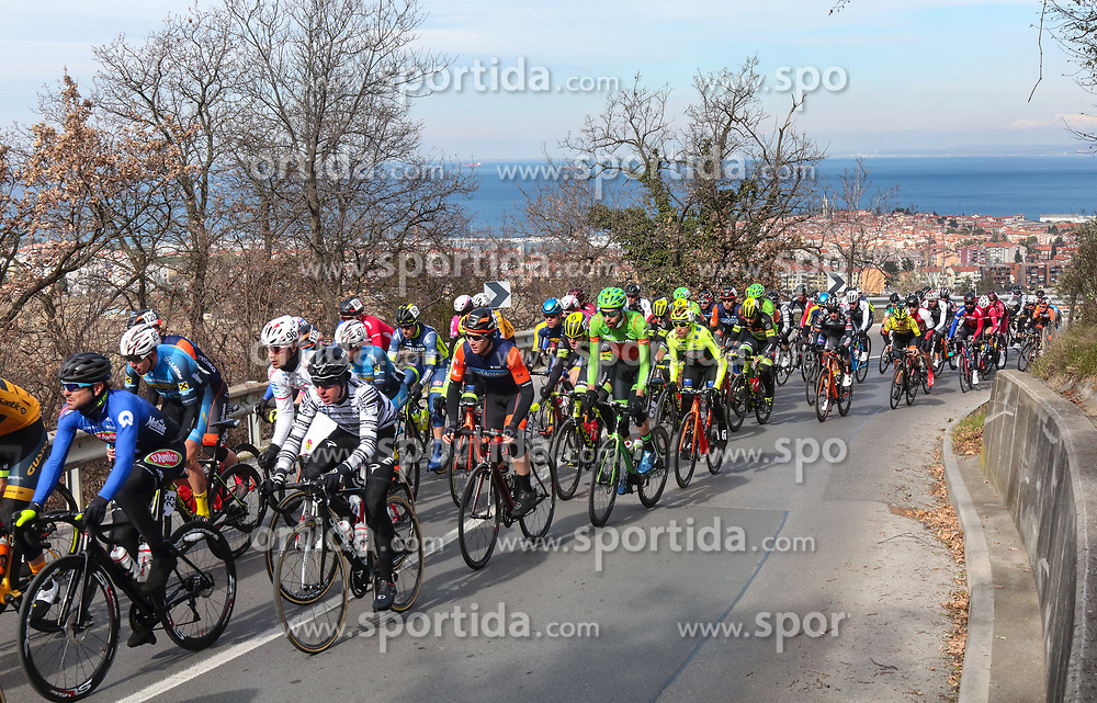 Peloton at Baredi, Gazon climb during the cycling race 6. VN Slovenske Istre / 6th Slovenian Istra Grand Prix, on February 24, 2019 in Izola/ Isola, Slovenia. Photo by Vid Ponikvar / Sportida
