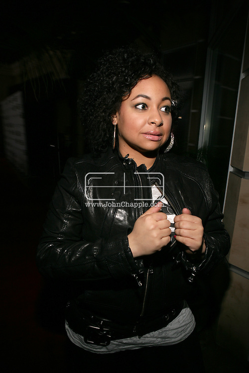 9th February 2009, Beverly Hills, California. Actress Raven-Symone, at Bondi Blonde's Style Mansion International Party, which was hosted by singer Katy Perry. PHOTO © JOHN CHAPPLE / REBEL IMAGES.tel: +1-310-570-910