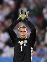 FUSSBALL EURO 2016 Viertelfinale in Bordeaux Deutschland - Italien      02.07.2016 SCHLUSSJUBEL Torwart Manuel Neuer(Deutschland)