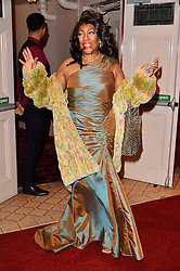© Licensed to London News Pictures. 08/03/2016. MARY WILSON of THE SUPREMES attends the Motown The Musical press night. Motown hits featured in the production include Dancing In The Street, I Heard It Through The Grapevine and My Girl. London, UK. Photo credit: Ray Tang/LNP