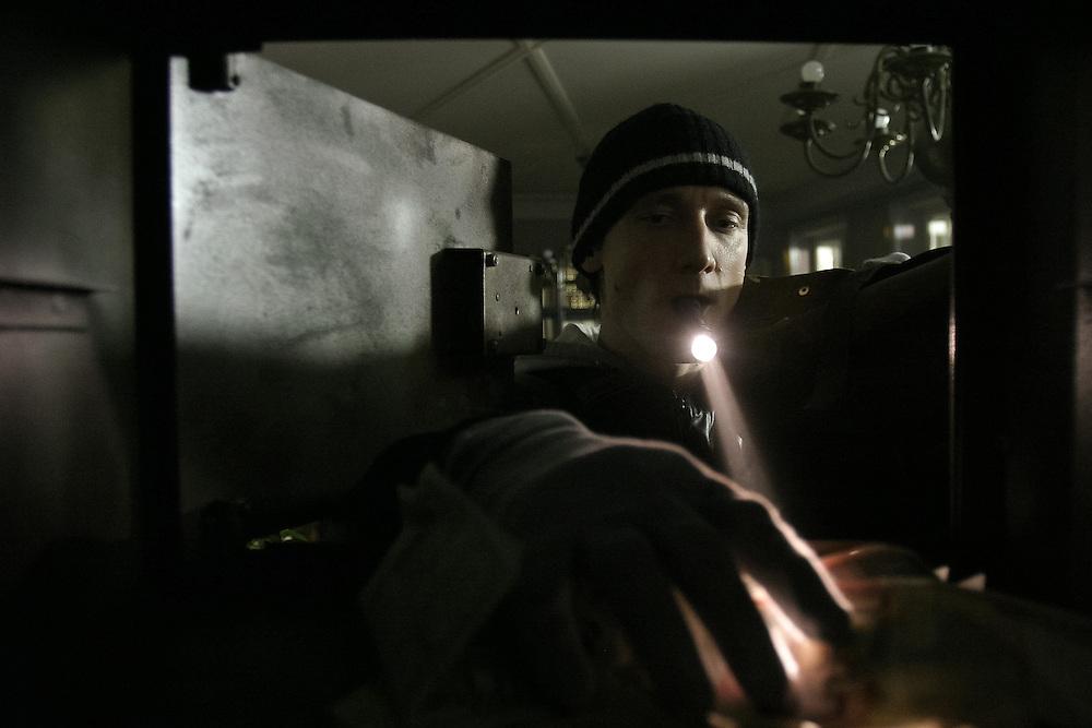 Marko Mandić in the scene from featured film Landscape No.2 - Pokrajina št.2, director: Vinko Moderndorfer; scinematography: Dušan Joksimović; still: Željko Stevanić/IFP