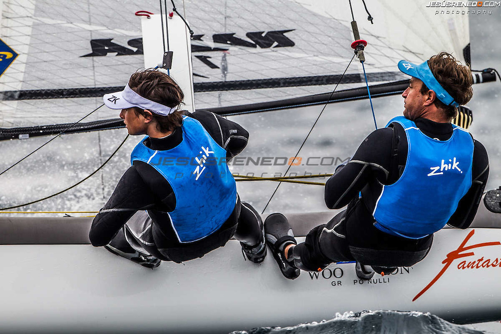 Palma de Mallorca, Spain, Arenal Training Camps 2014. First Day of Racing