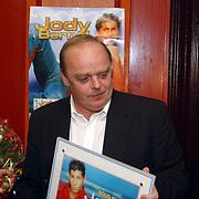 Gouden CD Jody Bernal, manager Wout van Dooleweerd