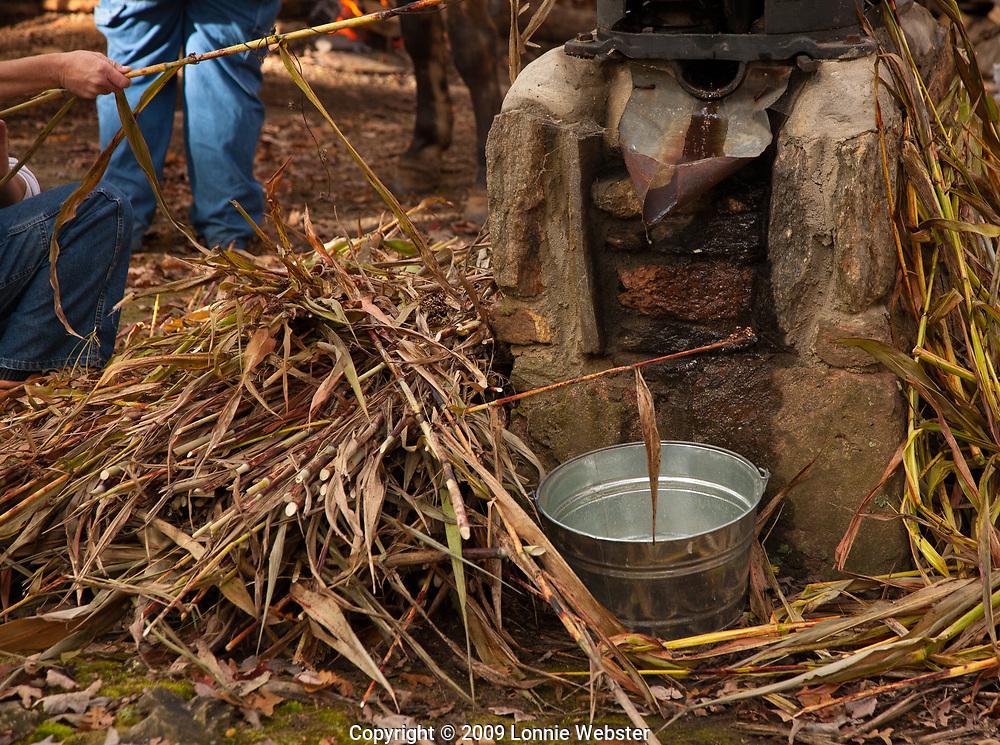 Molasses making at Hart Square near Hickory NC