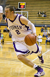 December 28, 2009; Berkeley, CA, USA;  Furman Paladins forward Neil Duval (2) during the second half against the UC Santa Barbara Gauchos at the Haas Pavilion.  UC Santa Barbara defeated Furman 72-60.