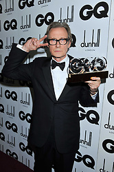 Editor's Special Award Winner BILL NIGHY at the GQ Men of the Year 2011 Awards dinner held at The Royal Opera House, Covent Garden, London on 6th September 2011.