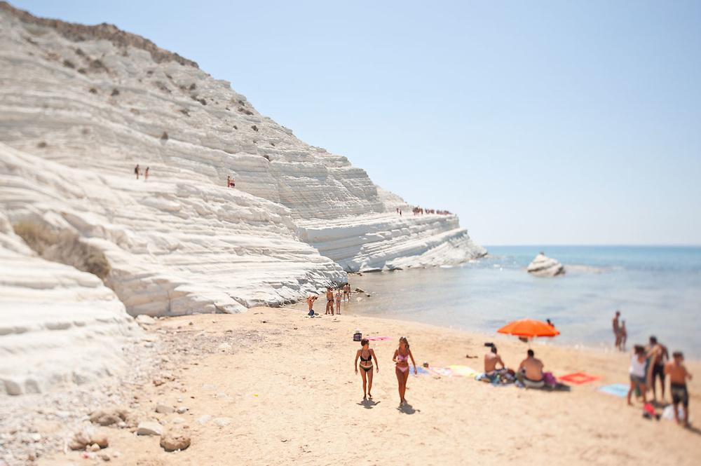 Scalata dei Turchi, Sicily 2011