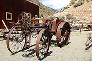 Historical museum in Clayton, Idaho, an old mining town on the Salmon River in central Idaho
