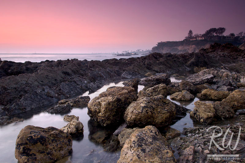 Tide Pool at Dusk, Corona Del Mar, California