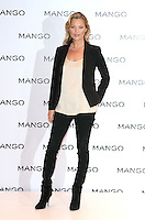 London - Kate Moss is unveiled as the new face of fashion brand Mango at Mango, Oxford Street, London - January 24th 2012....Photo by Jill Mayhew