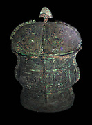 Shang Bronze vessel with cover