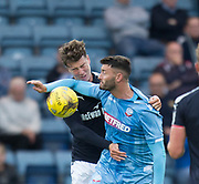 Dundee's Jack Hendry and Bolton Wanderers' Gary Madine - Dundee v Bolton Wanderers pre-season friendly at Dens Park, Dundee, Photo: David Young<br /> <br />  - © David Young - www.davidyoungphoto.co.uk - email: davidyoungphoto@gmail.com