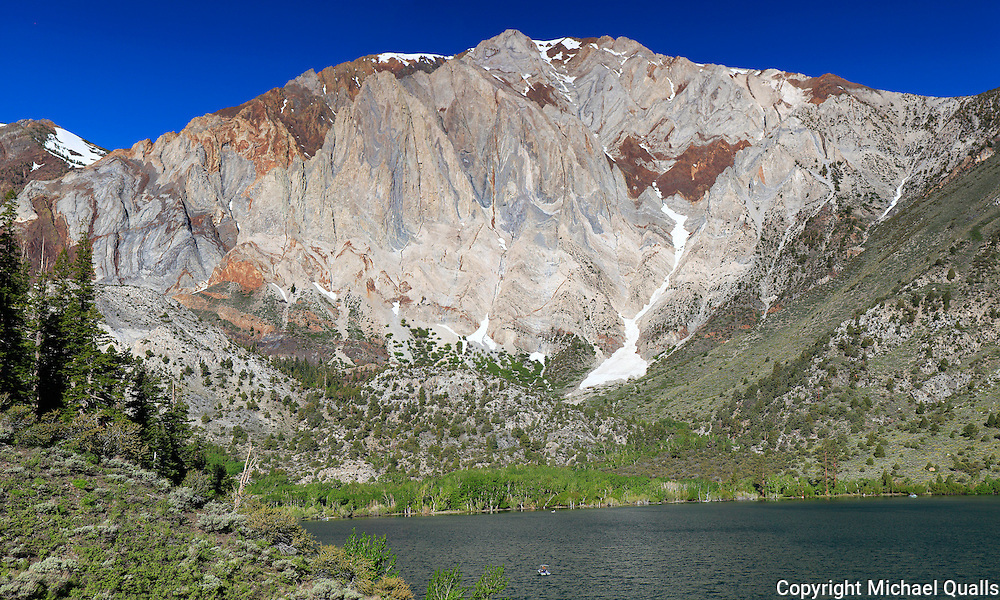 Laurel Mountain at the end of Convict Lake.