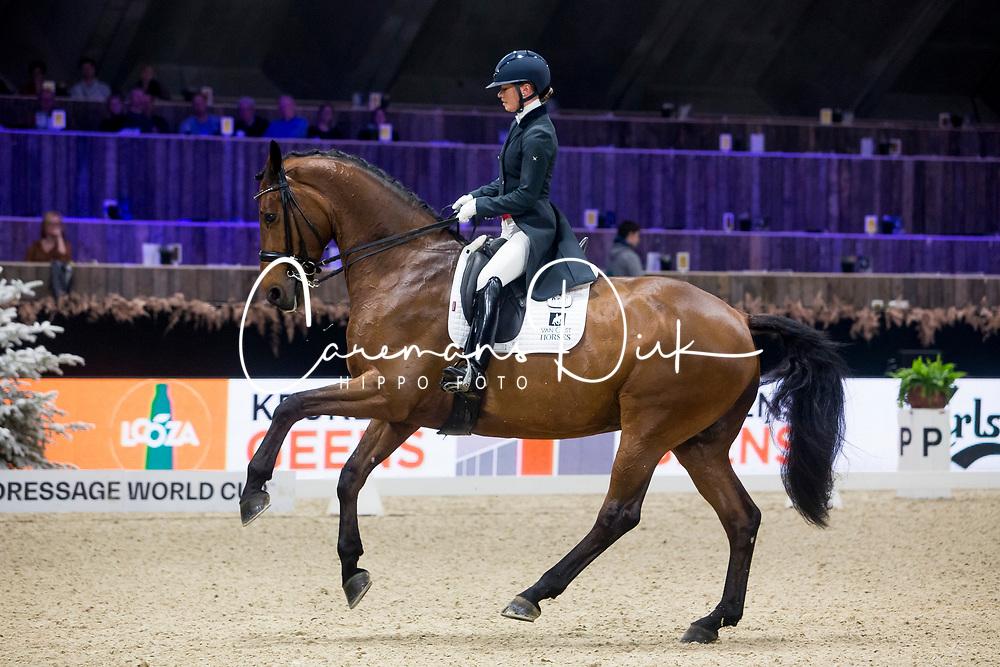 Fry Charlotte, GBR, Graaf Leatherdale T<br /> Jumping Mechelen 2019<br /> © Hippo Foto - Sharon Vandeput<br /> 28/12/19