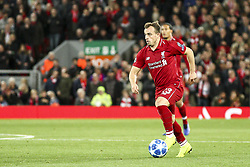 October 24, 2018 - Liverpool, England, United Kingdom - Liverpool midfielder Xherdan Shaqiri (23) in action during the Uefa Champions League Group Stage football match n.3 LIVERPOOL - CRVENA ZVEZDA on 24/10/2018 at the Anfield Road in Liverpool, England. (Credit Image: © Matteo Bottanelli/NurPhoto via ZUMA Press)