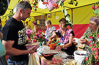 """Vying for the best berry pie at an end-of-summer agricultural fair in Uglich, Russia. As one of Russia's """"Golden Ring"""" cities, Uglich is designated a town of significant cultural importance."""