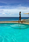 Poolside  - The Caves - Negril Jamaica