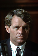 A 28.5 MG IMAGE OF:.Robert Kennedy in June of 1966...Photo by Dennis Brack  B 4