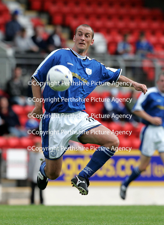 St Johnstone v Raith Rovers...28.08.04<br />Paul Sheerin<br /><br />Picture by Graeme Hart.<br />Copyright Perthshire Picture Agency<br />Tel: 01738 623350  Mobile: 07990 594431