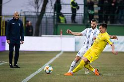 Nino Kouter of NŠ Mura during football match between NŠ Mura and NK Domžale in 21st Round of Prva liga Telekom Slovenije 2018/19, on March 02, 2019 in Fazanerija, Murska Sobota, Slovenia. Photo by Blaž Weindorfer / Sportida
