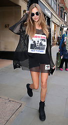 Model Josephine Skriver at Tommy Hilfiger's head office in London, UK. 18/09/2017<br />BYLINE MUST READ : JAMESY/GOTCHA IMAGES<br /><br />Copyright by © Gotcha Images Ltd. All rights reserved.<br />Usage of this image is conditional upon the acceptance <br />of Gotcha Images Ltd, terms and conditions available at<br />www.gotchaimages.com